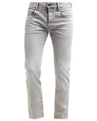 3301 Straight Straight Leg Jeans Kamden Grey Stretch Denim