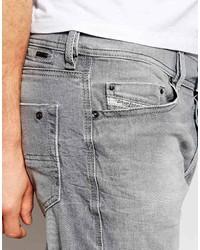 19b5070076b6 Diesel Jeans Tepphar 839n Slim Fit Light Gray Wash, £138   Asos ...