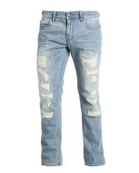 Skinny straight leg jeans ragged medium 4273153