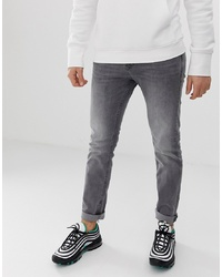 Tom Tailor Slim Fit Piers Jeans In Grey Wash