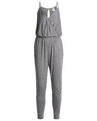 Sfbina jumpsuit light grey melange medium 4730124