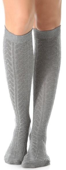 a6a759d8f67 ... Falke Striggings Cable Knit Knee High Socks ...