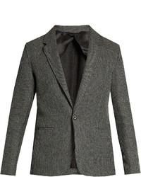 Lanvin Notch Lapel Cotton Knit Blazer