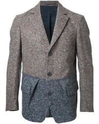Wooster lardini flap pockets knit blazer medium 1138463