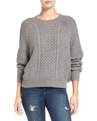 Cable knit dolman sweater medium 827516