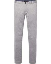 Grey Knit Chinos