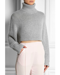 Dion Lee Cropped Knitted Turtleneck Sweater | Where to buy & how ...