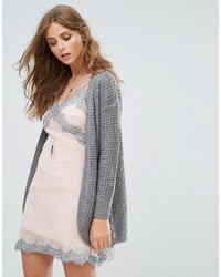 Emma long knt open cardigan medium 5422836