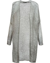Avant Toi Open Knit Cardi Coat