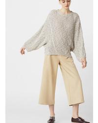 Mango Oversize Cotton Sweater