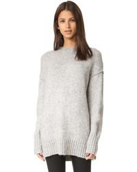 R13 oversized crew neck sweater medium 842536
