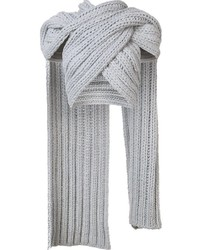 Knitted wrap scarf medium 840728