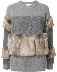 Stella McCartney Fur Free Knit Sweater