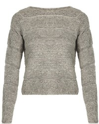 See by Chloe See By Chlo Round Neck Looped Knit Sweater