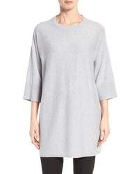 Eileen Fisher Organic Cotton Knit Tunic