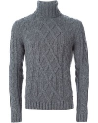 Woolrich Cable Knit Turtleneck Sweater