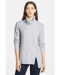 Collection cashmere cable pullover medium 177307