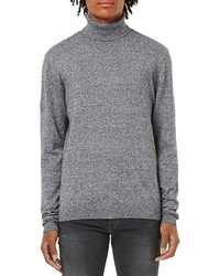Topman Marled Turtleneck Sweater