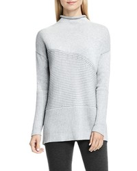 Rib knit turtleneck sweater medium 1158392