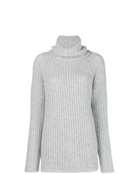 Incentive! Cashmere Turtleneck Cable Knit Jumper
