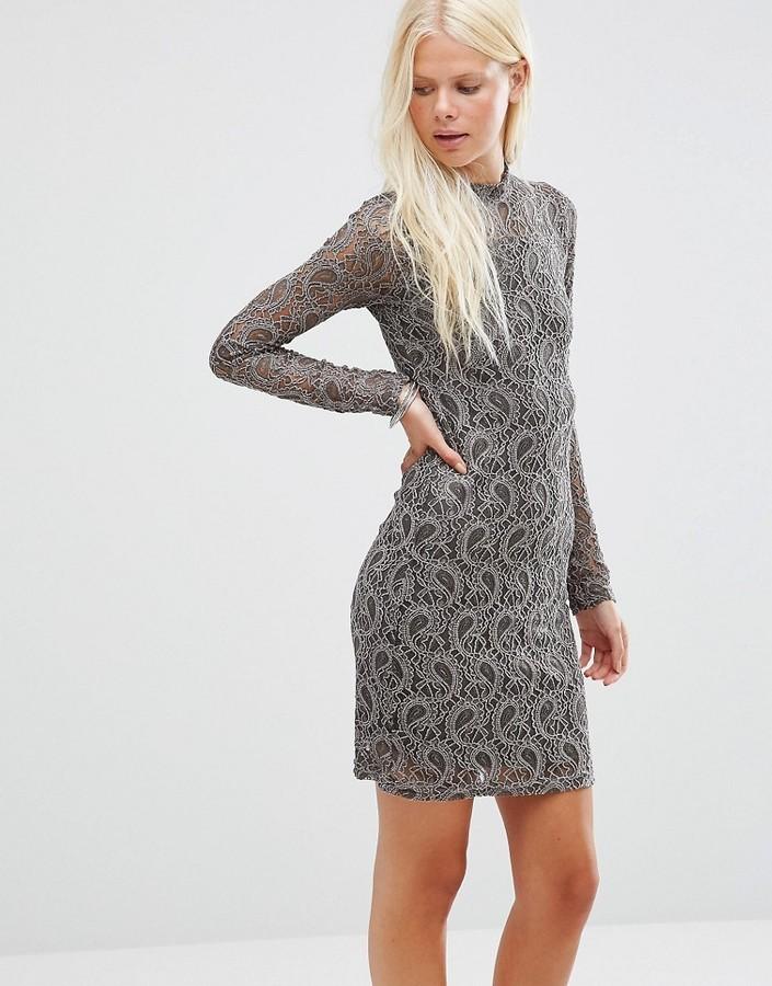 52 Minimum Sella Lace Bodycon Dress