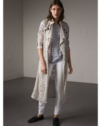 Grey Lace Coat
