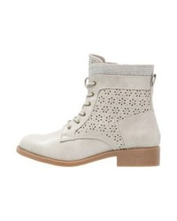Lace up boots grey medium 4107683