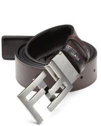 Fendi America Elite Reversible Leather Belt