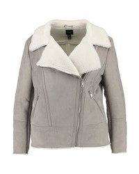 Valley shearling light jacket grey medium 6752265