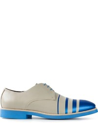 Striped derby shoes medium 224171