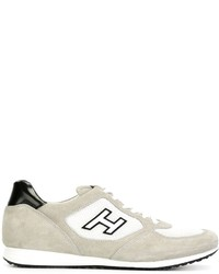 Hogan H Logo Panel Low Top Sneakers