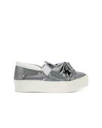 N°21 N21 Folded Detail Sneakers