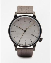 Komono Winston Watch In Gray