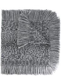 Leopard skull knit scarf medium 842909
