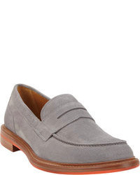 Grey Loafers