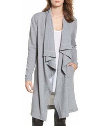 Grey Long Cardigan