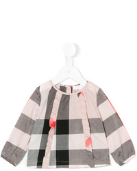 Burberry Kids Checkered Blouse