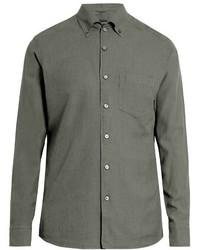 Long sleeved cotton button cuff shirt medium 808862