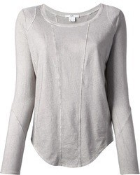 Grey long sleeve t shirt original 1286763