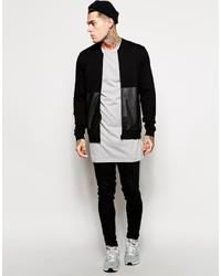 ... Asos Brand Super Longline Long Sleeve T Shirt ... f72d3c749d3
