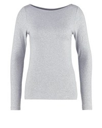 Long sleeved top heather grey medium 3896326