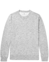 Slim fit mlange cotton jersey t shirt medium 1245851