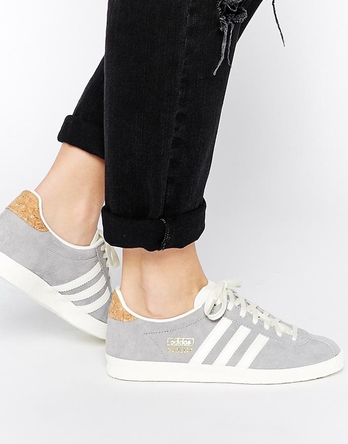 Originals Gazelle Og Solid Gray Sneakers