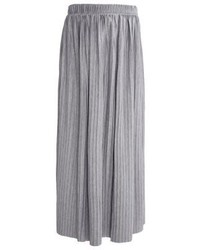 MOVES Filla Maxi Skirt Light Grey