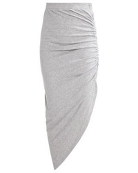 Nmola maxi skirt light grey melange medium 3934228