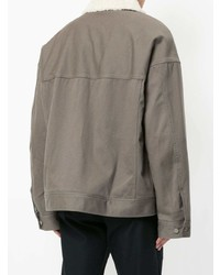Undercover Shearling Work Jacket