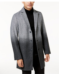 Grey Ombre Overcoat