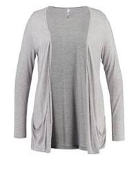 Evans Cardigan Light Grey Marl