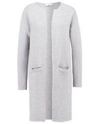 Sflaua cardigan light grey melange medium 3946757