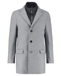 Tommy Hilfiger Clyde Classic Coat Light Grey